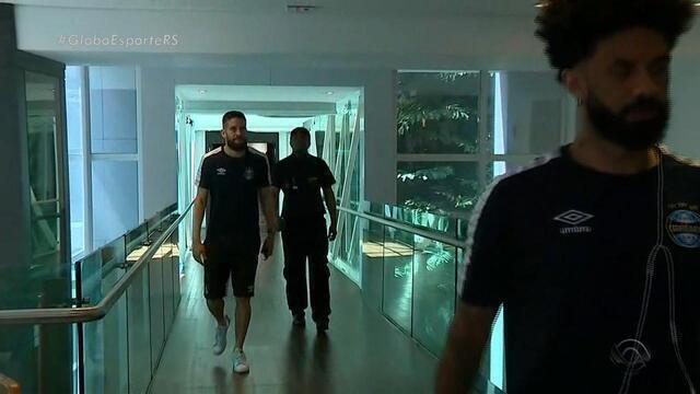 Grêmio vive clima tranquilo na concentração; 52 mil torcedores são esperados na Arena