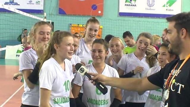 Atletas do Colégio Rodrigues Alves falam sobre título do vôlei nos Jogos Escolares