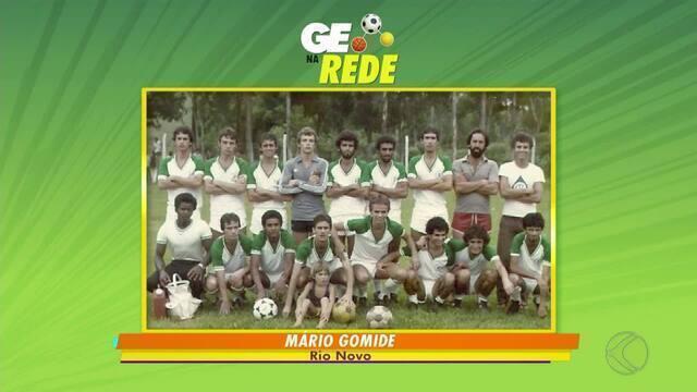 GE na Rede tem foto histórica de Rio Novo e time máster do Tupi