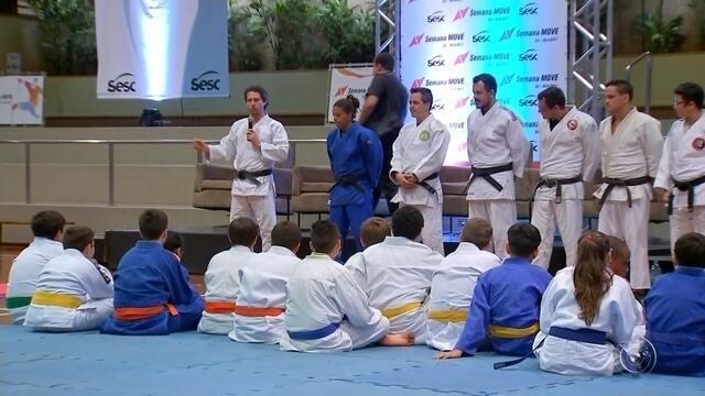 Bauru recebe medalhistas olímpicos do judô em evento