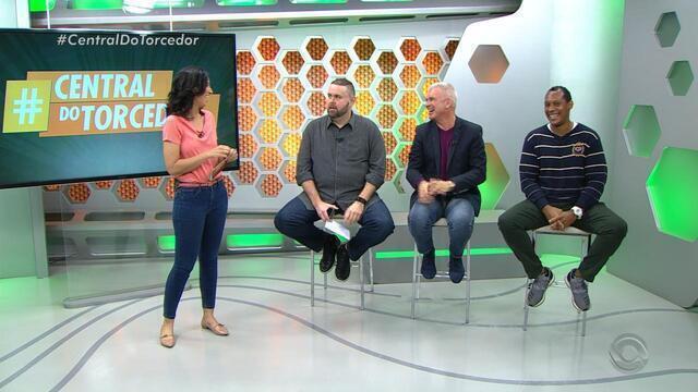 Público participa do Globo Esporte com a #CentralDoTorcedor