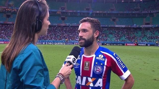 """Allione confirma que foi tocado no lance decisivo da partida: """"Foi pênalti"""""""