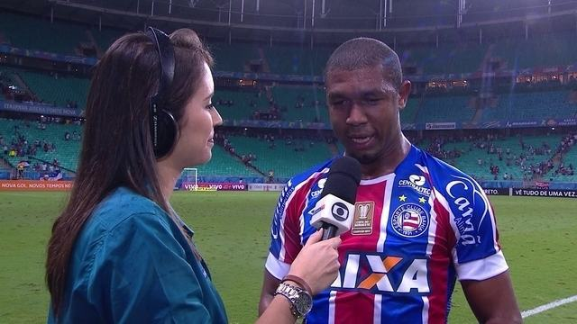 Autor do gol da vitória, Rodrigão comemora fim de jejum