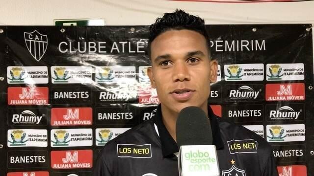 Rhayne elogia consistência defensiva do Atlético-ES após empate diante do Espírito Santo