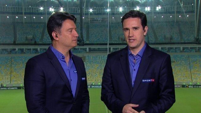 Raphael Rezende analisa clássico entre Vasco e Botafogo, no Maracanã