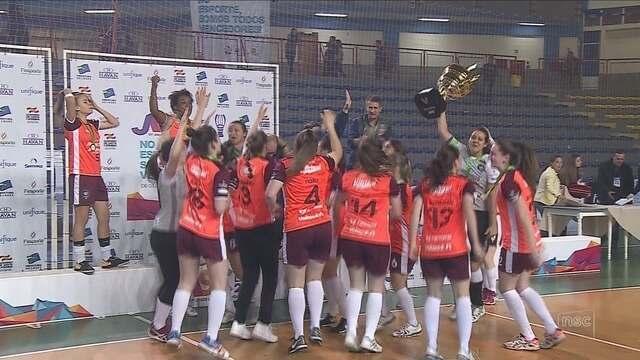 Female Futsal bate Leoas da Serra e é campeã estadual em Lages
