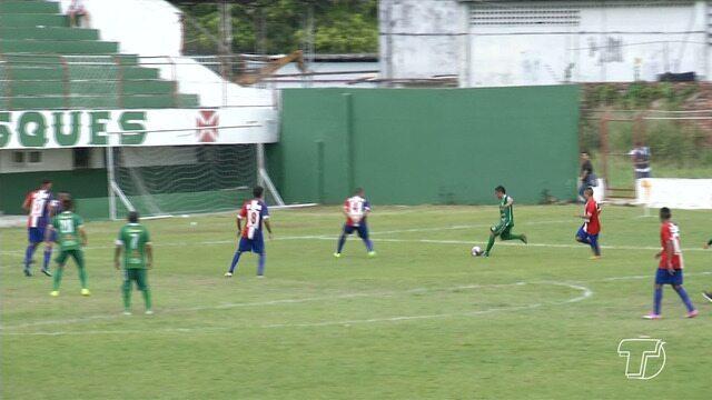 Tapajós vence Vila Rica por 3x0 e assume liderança do Grupo A3 da Segundinha
