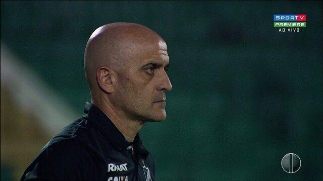 ABC empata com Guarani e técnico Itamar Schülle pede demissão do clube