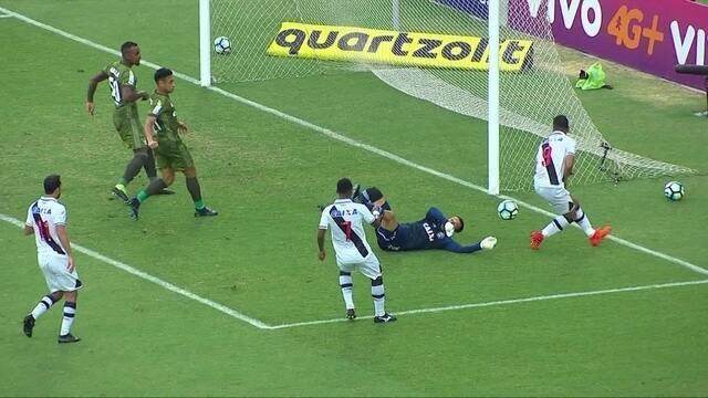 Melhores momentos: Vasco 1 x 1 Coritiba pela 30ª rodada do Brasileirão 2017