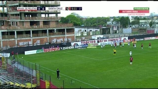 Melhores momentos de Brasil de Pelotas 1 x 1 Santa Cruz pela 31ª rodada da Série B