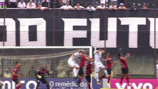 Melhores momentos de Santos 1 x 0 Atlético-GO pela 30ª rodada do campeonato Brasileiro