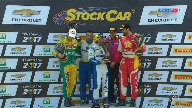 Àtila Abreu subiu no pódio pela quinta vez no campeonato 2017 da Sotck Car Brasi