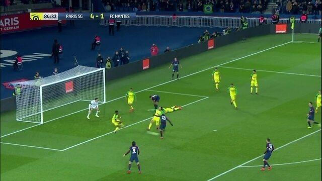 Massacre! Rabiot é mais um a perdeu gol pelo PSG, aos 39' do 2º tempo