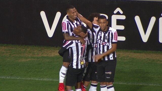 Os gols de Atlético-MG 3 X 0 Coritiba pela 36ª rodada do Brasileirão