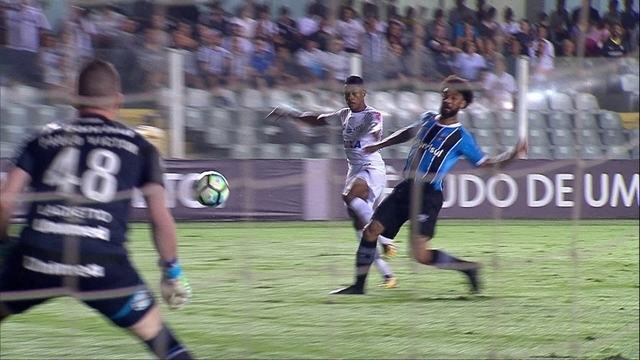 Melhores momentos de Santos 1 x 0 Grêmio pela 36ª rodada do Brasileirão