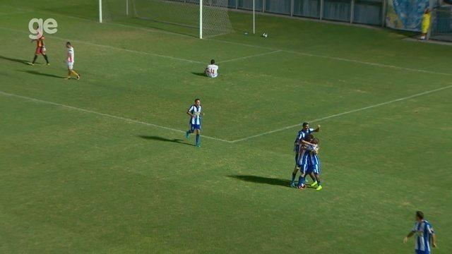 Veja o gol de São Raimundo 1 x 0 Holanda-AM