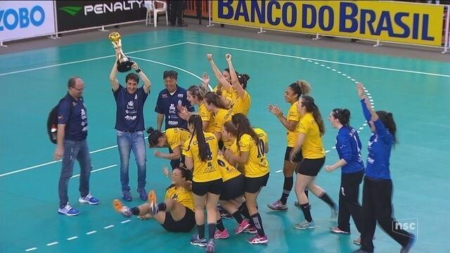 Concórdia conquista Liga Nacional Feminina de Handebol
