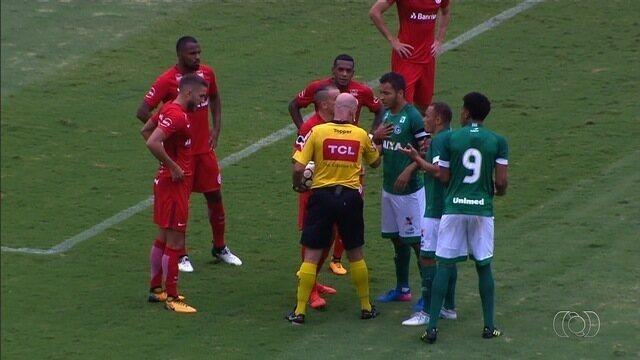 Goiás tem gol legal anulado e perde para o Internacional