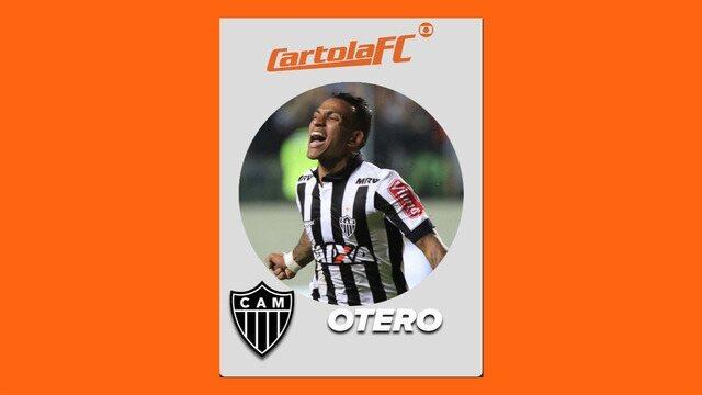 Otero, do Atlético-MG, é o craque do Cartola FC na 36ª rodada