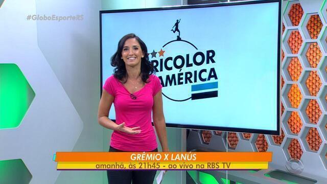 Globo Esporte RS - Bloco 1 - 21/11