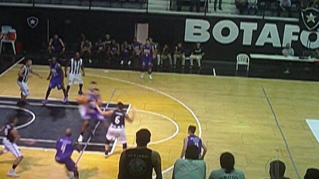Mogi derruba o Botafogo no Rio, mantém 100% e segue líder do NBB