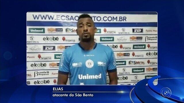 Ex-Cuiabá e CRB, atacante Elias é anunciado como reforço no São Bento