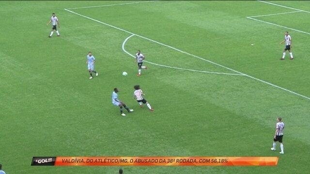 Valdívia é eleito o abusado da última rodada do Brasileiro no É Gol!!!