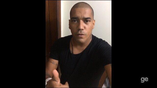 Luiz Carlos Imperador manda recado para torcida do São Raimundo