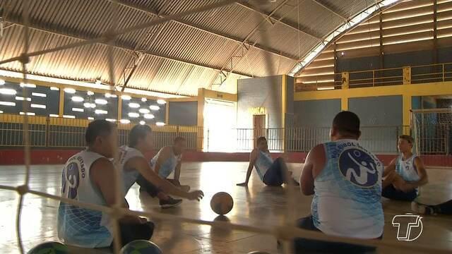 Time santareno de vôlei sentado participará de competição em Aracaju, no Sergipe