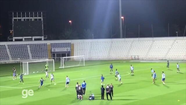 Veja como foi o segundo treino do Grêmio em Al Ain