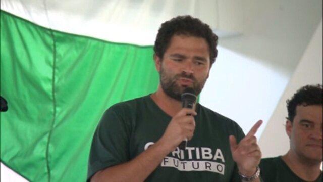 Confira o primeiro pronunciamento de Samir Namur, novo presidente do Coritiba