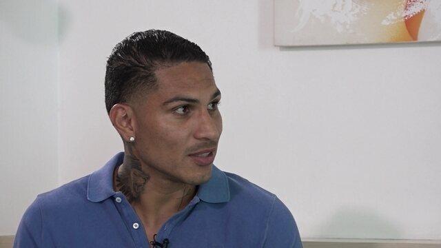 Com exclusividade, Guerrero fala sobre suspensão de um ano pela Fifa