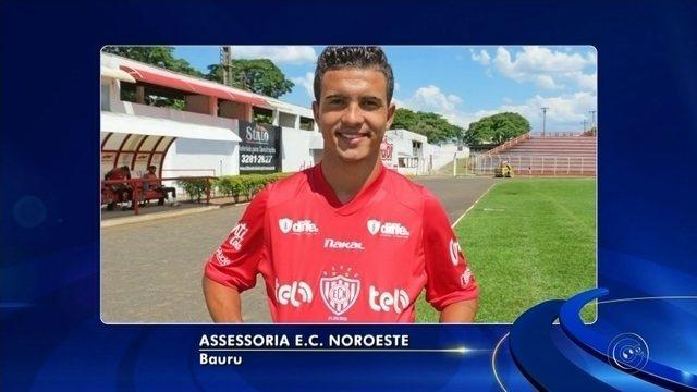Noroeste anuncia a chegada do atacante Alef, ex-Desportivo Brasil