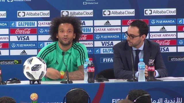 Real Madrid se prepara para estreia no Mundial, e Marcelo comenta Renato x CR7
