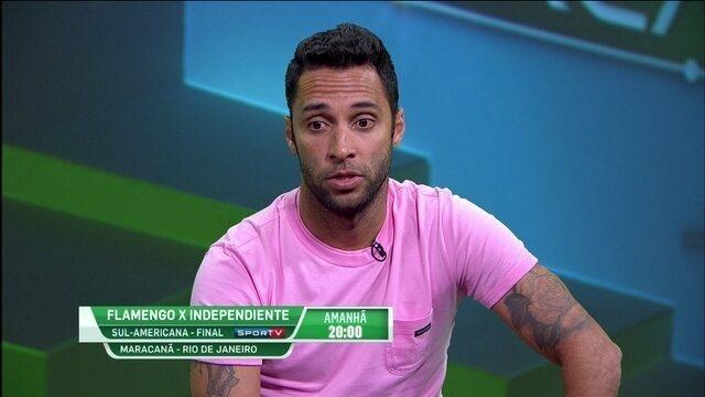 """Ibson destaca chave para o Flamengo ser campeão da Sul-Americana: """"Paciência"""""""