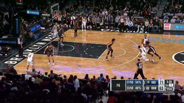 Melhores momentos: Indiana Pacers 109 x 97 Brooklyn Nets pela NBA
