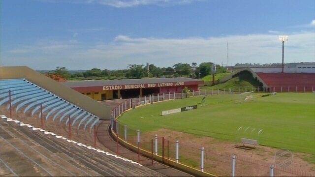 O estádio Luthero Lopes em Rondonópolis precisa de melhorias para o Mato-grossense