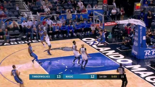 Melhores momentos: Minnesota Timberwolves 102 x 108 Orlando Magic pela NBA