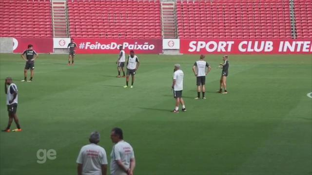 Inter treina no Beira-Rio com time definido para estreia no Gauchão