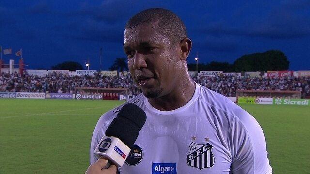 Em Linense x Santos, Rodrigão faz golaço e dedica a Gabigol