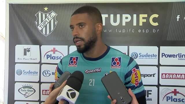Reis pode ser novidade entre os titulares do Tupi contra Uberlândia
