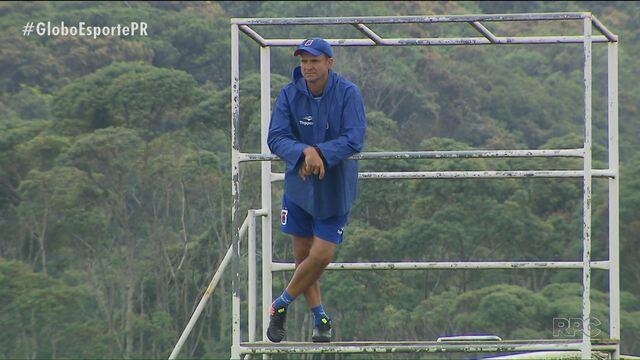 Paraná Clube já se prepara para clássico com o Atlético