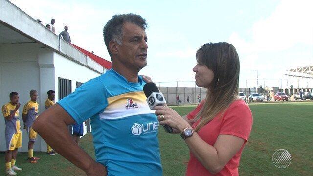 Bahia de Feira faz treino intenso para disputa no Campeonato Baiano