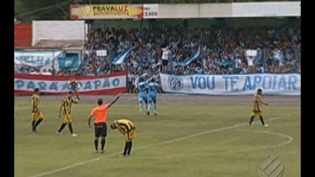 Paysandu vence Castanhal por 4 a 2, no Modelão.