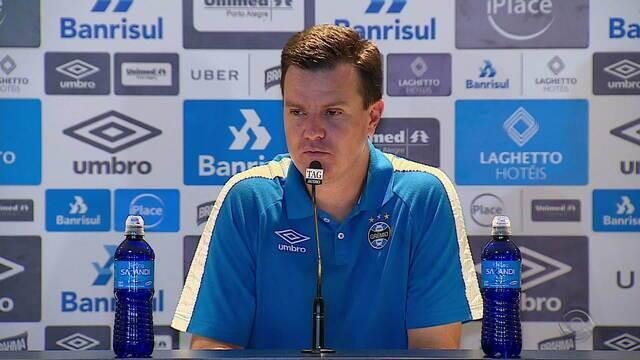 Técnico explica o que quis dizer com 'imaturidade' sobre o time de transição do Grêmio