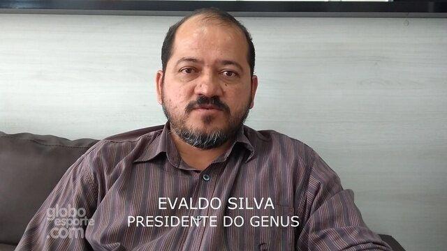 Presidente do Genus, Evaldo Silva, fala de parceria com o Avaí