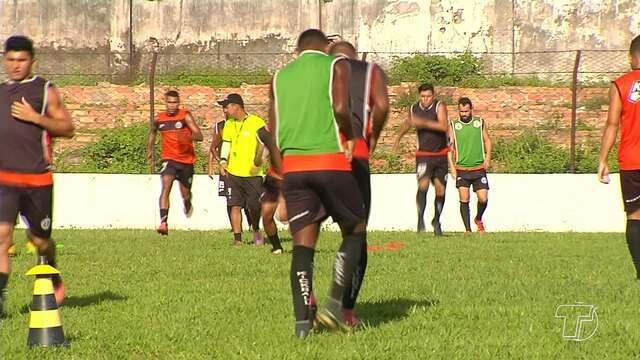 Jogadores do São Raimundo não tiveram descanso no feriado de Carnaval