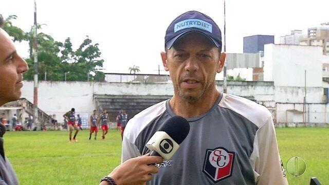 Fernando Tonet fala sobre expectativas de jogo do Santa Cruz contra o Potiguar