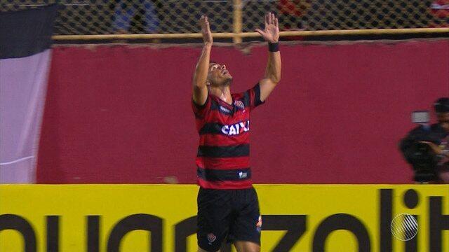Vitória vence o Corumbaense por 3 a 0 pela Copa do Brasil