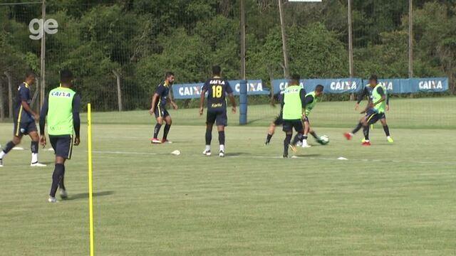 Por dentro do treino: Londrina trabalha para virar a chave na Copa do Brasil